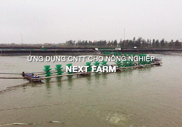 Giải pháp quan trắc môi trường nước Nextfarm