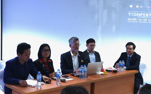 [Cafebiz] CEO Nextfarm tại Techfest Việt Nam 2019: Tập trung vào sản phẩm là cách tiếp thị sản phẩm nông nghiệp thông minh bền vững