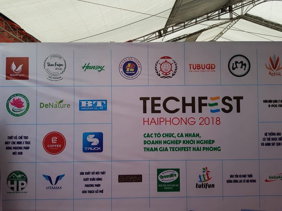 Nextfarm tại triển lãm Công nghệ do Bộ Khoa học Công nghệ tổ chức – Techfest Hai Phong