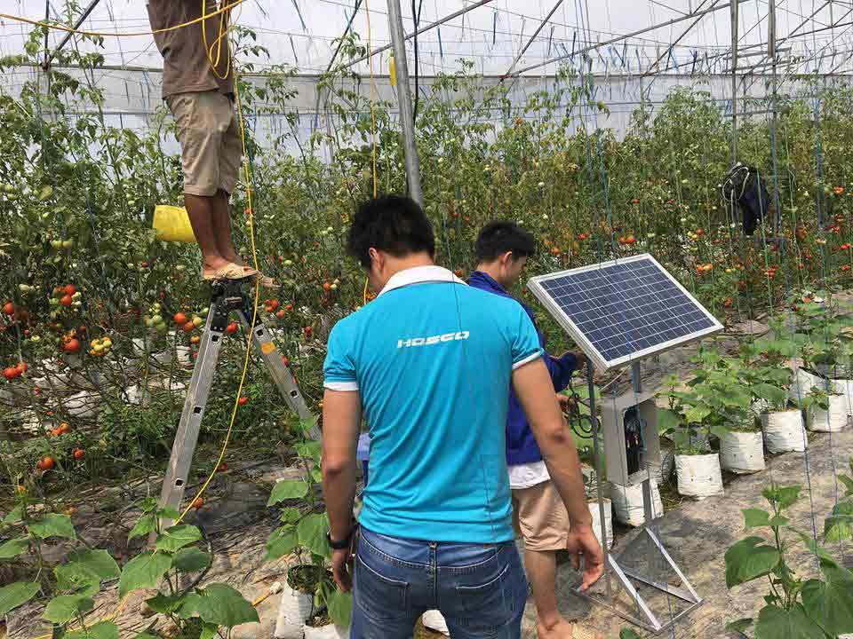 Hệ thống tưới cây thông minh Next Farm