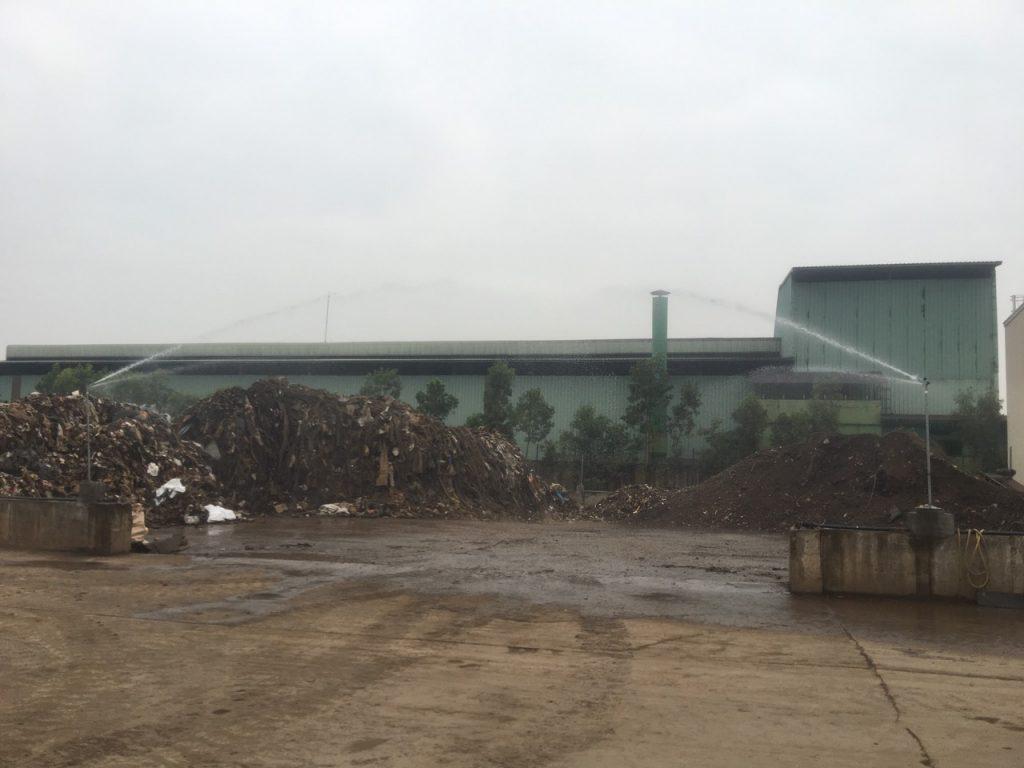 [Hải Phòng] Nextfarm triển khai giai đoạn 2 hệ thống phun nước dập bụi cho Nhà máy xử lý rác Thành Đại Phú Mỹ – Nam Cầu Kiền – Hải Phòng
