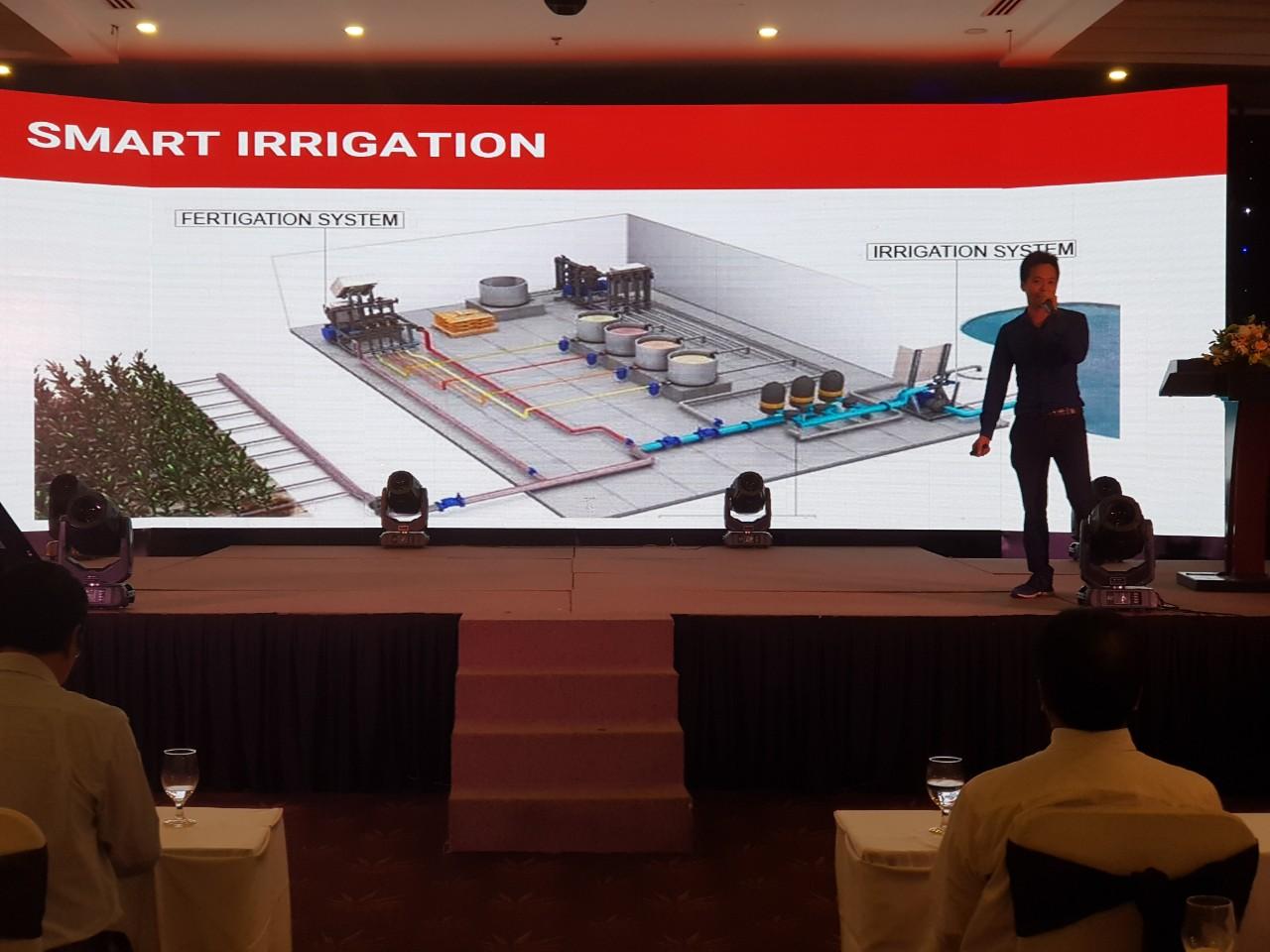 CEO Nông nghiệp thông minh Nextfarm giới thiệu về Nextfarm