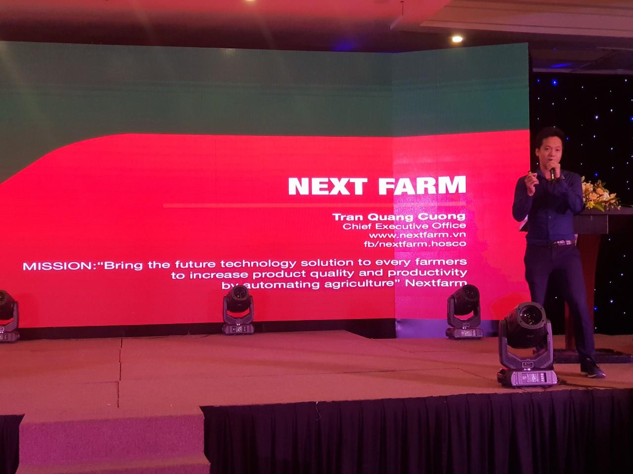 giải pháp ứng dụng nông nghiệp thông minh Nextfarm tại hội nghị