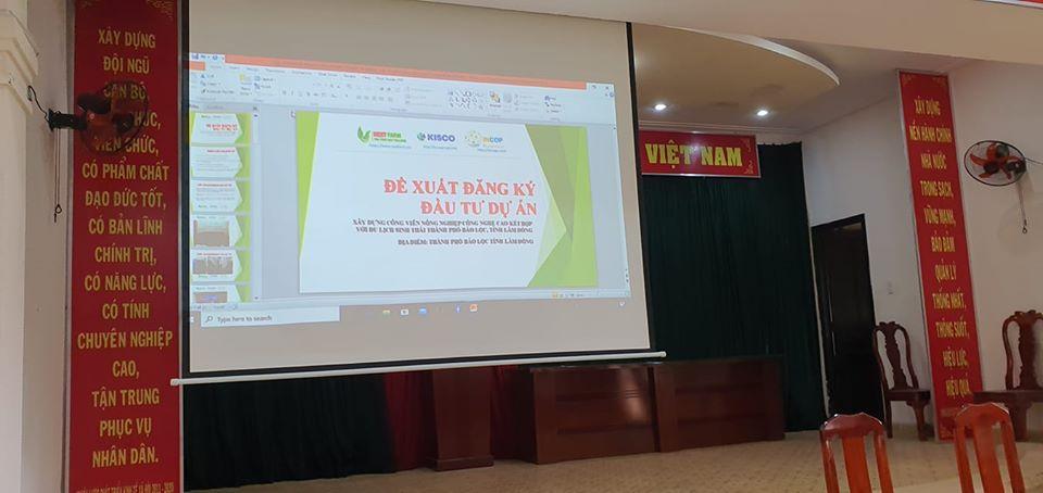 Liên doanh Nextfarm – Incop – Kissco – Tập đoàn Đa ngành Mỹ Sơn đề xuất tham gia đầu tư dự án Công viên Nông nghiệp Công nghệ cao tại thành phố Bảo Lộc – tỉnh Lâm Đồng