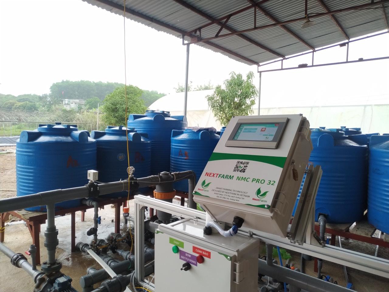Bộ châm phân dinh dưỡng Nextfarm Fertikit 4G V2020