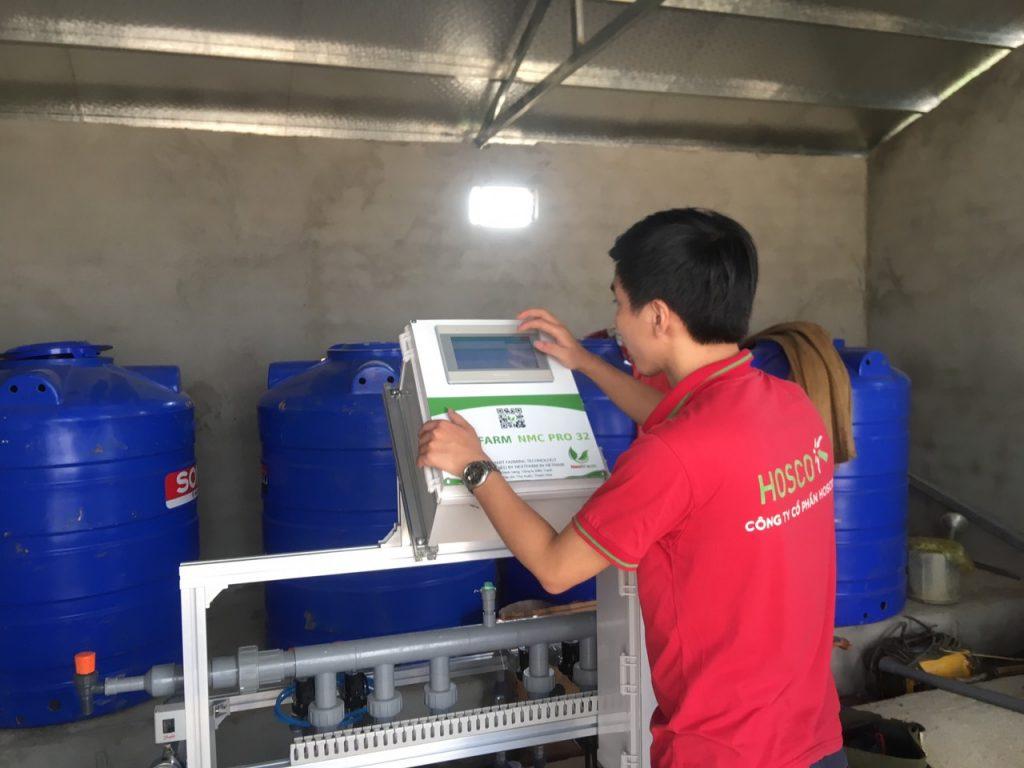 [Thanh Hóa] Nextfarm triển khai thành công Giải pháp Nông nghiệp thông minh: Máy châm phân dinh dưỡng Nextfarm Fertikit 4G cho Farm Điền Trạch – Lam Sơn Thanh Hoá