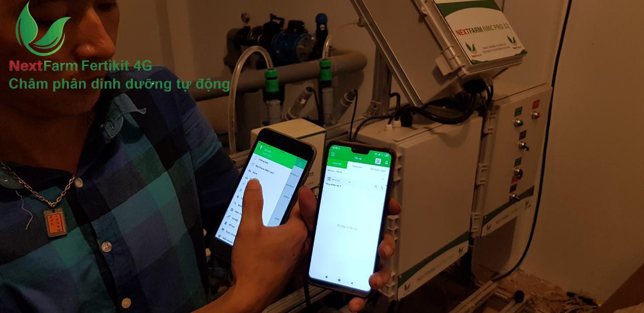 Triển khai Ứng dụng CNTT trong nông nghiệp Next Farm cho Lotus Farm