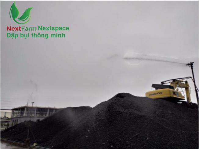 Giải pháp hệ thống phun sương dập bụi môi trường Nextfarm