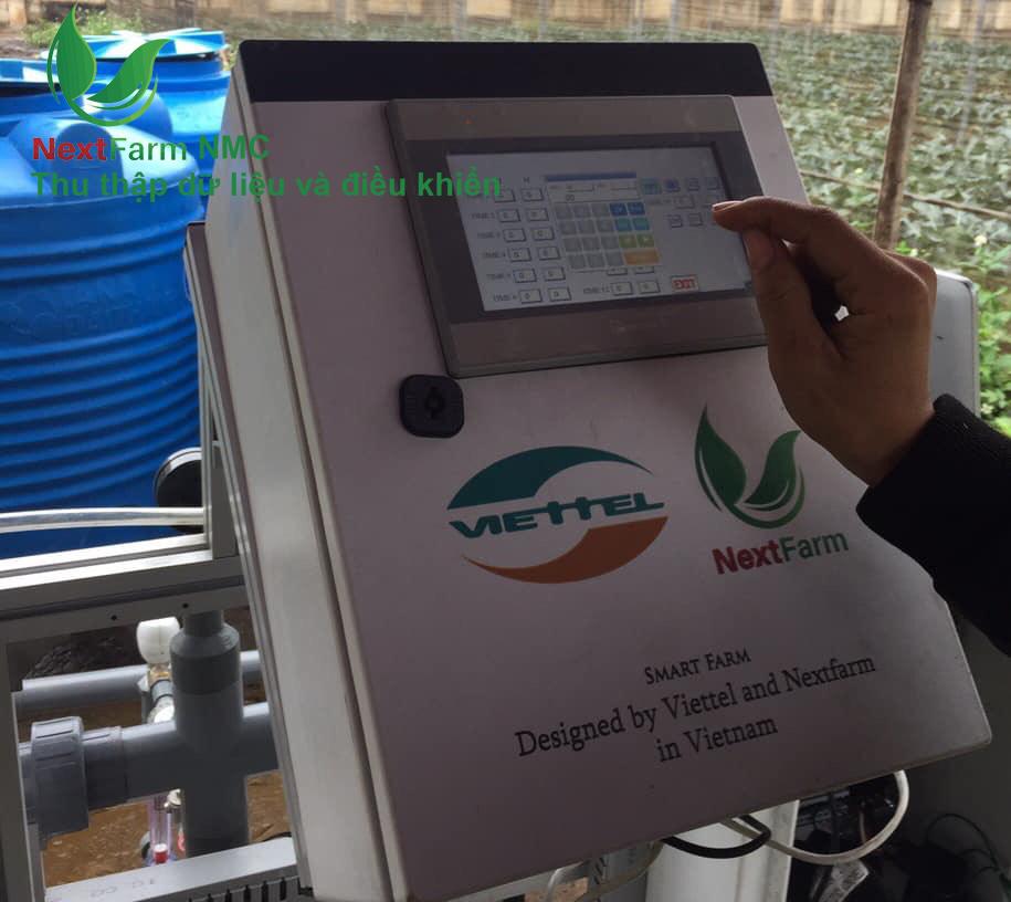 Sản phẩm: Hệ thống nông nghiệp thông minh Nextfarm (Dân trí)
