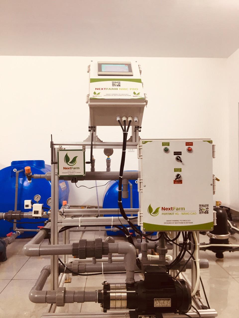Máy châm phân dinh dưỡng tự động Nextfarm Fertikit 4G