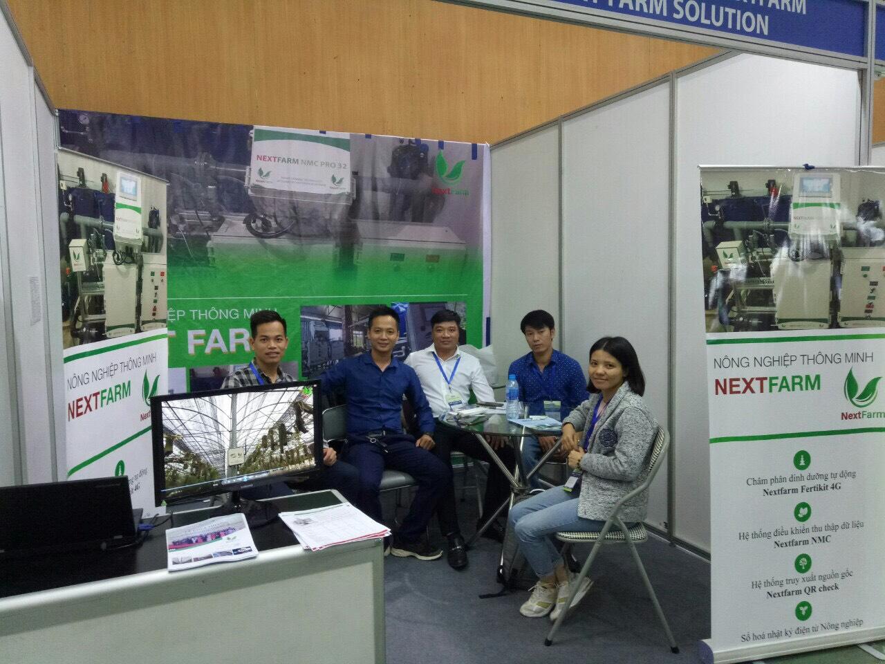Nextfarm tại gian hàng triển lãm Nông Lâm Ngư Nghiệp Growtech Vietnam 2019 tại 91 Trần Hưng Đạo