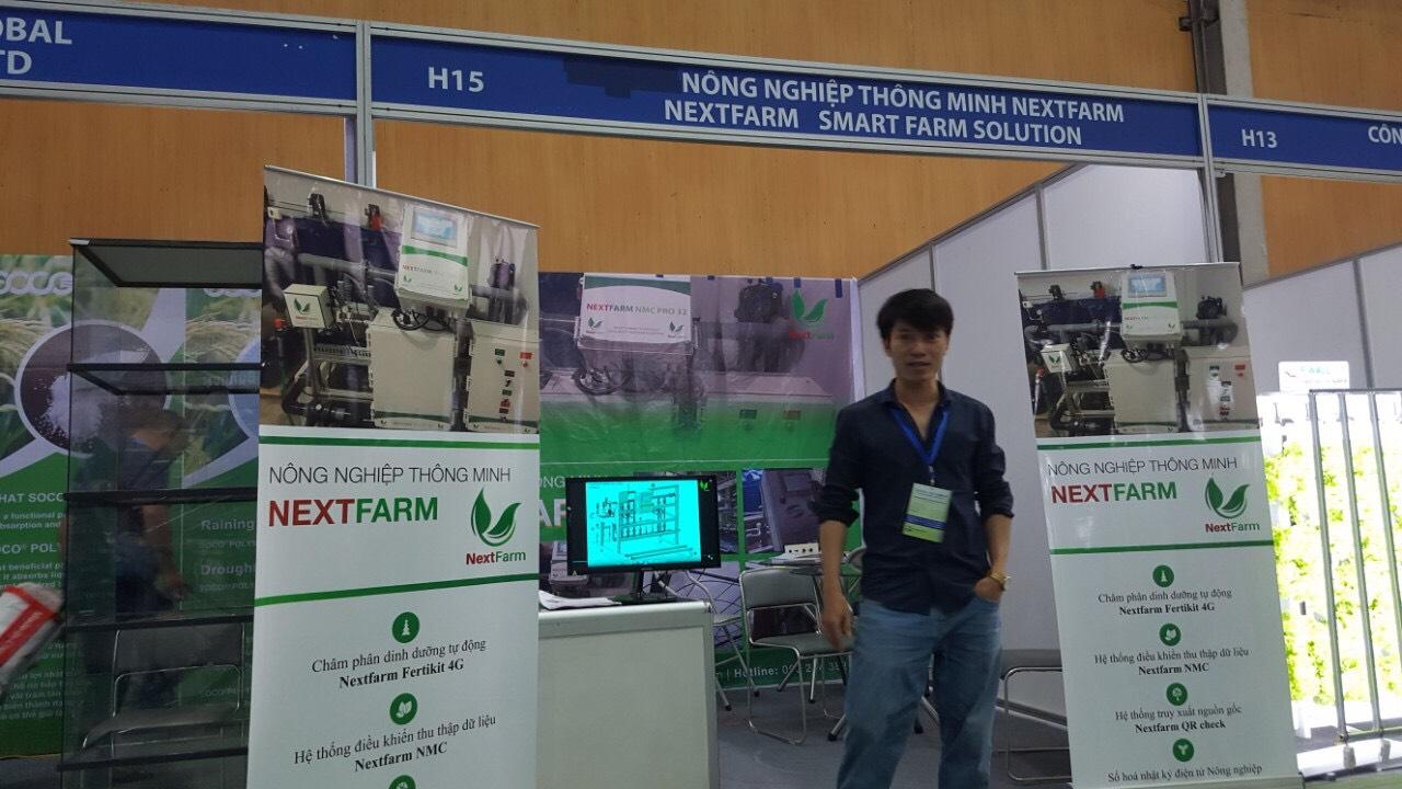 Nông nghiệp thông minh Nextfarm tại triển lãm Nông Lâm Ngư Nghiệp Growtech Vietnam 2019
