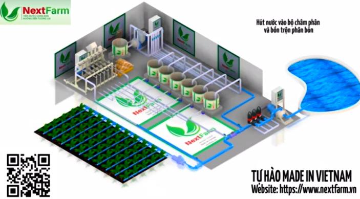 Hệ thống châm phân tự động  – làm chủ dinh dưỡng cho cây