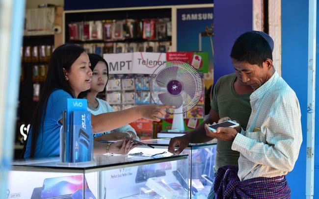Cách mạng công nghiệp 4.0 ở Myanmar: Cú nhảy vọt của ngành viễn thông (Cafef.vn)
