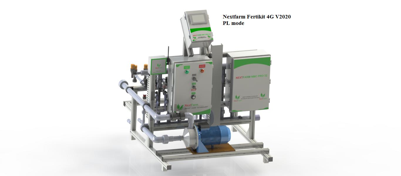 Máy châm phân dinh dưỡng tự động Nextfarm Fertikit 4G By Pass đặc biệt