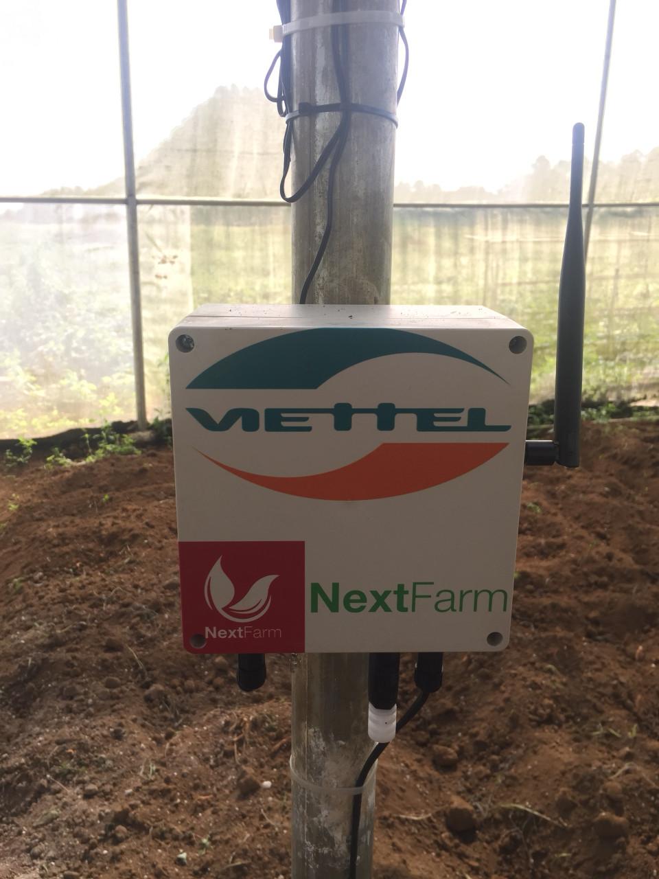 Nông nghiệp thông minh Viettel Nextfarm