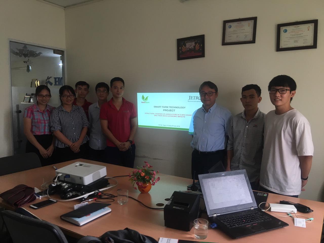 Nextfarm hợp tác kết nối cùng Tổ chức Xúc tiến thương mại Jetro Nhật Bản cho dự án CLMTV Countries trong Nông nghiệp