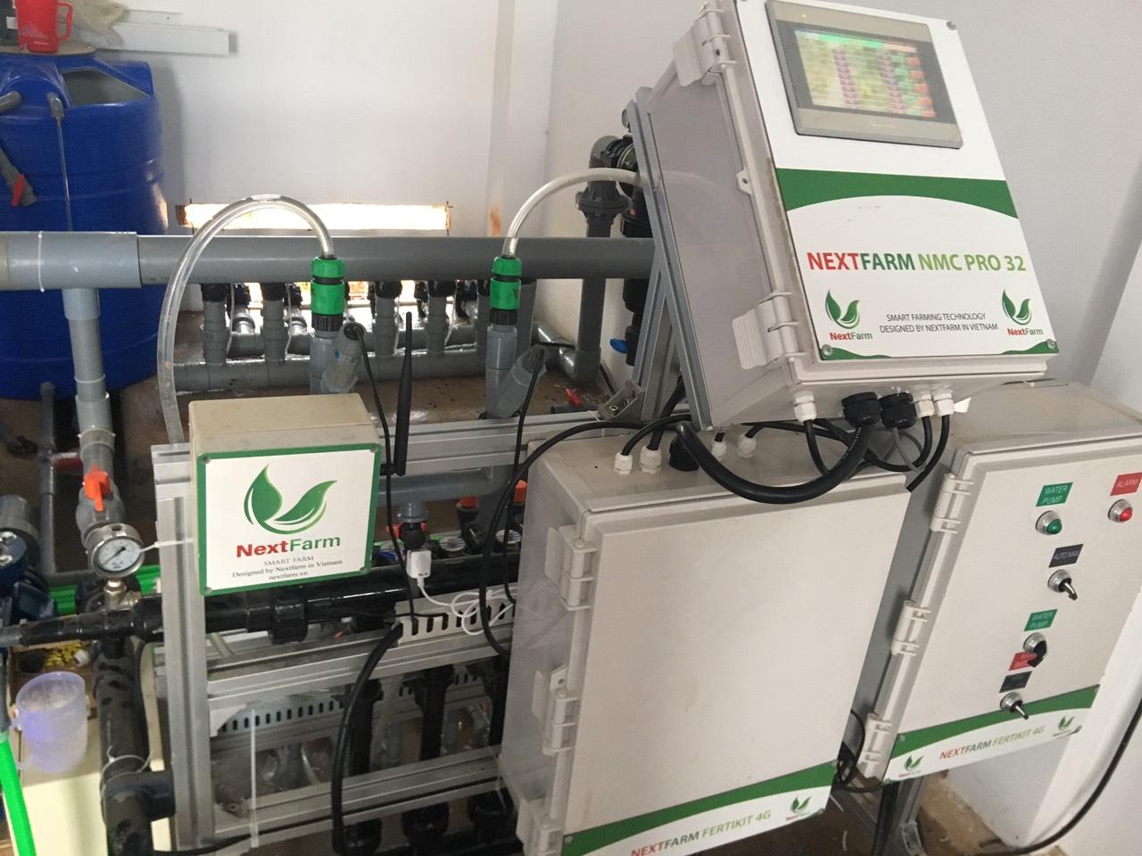 Máy châm phân dinh dưỡng Nextfarm Fertikit 4G