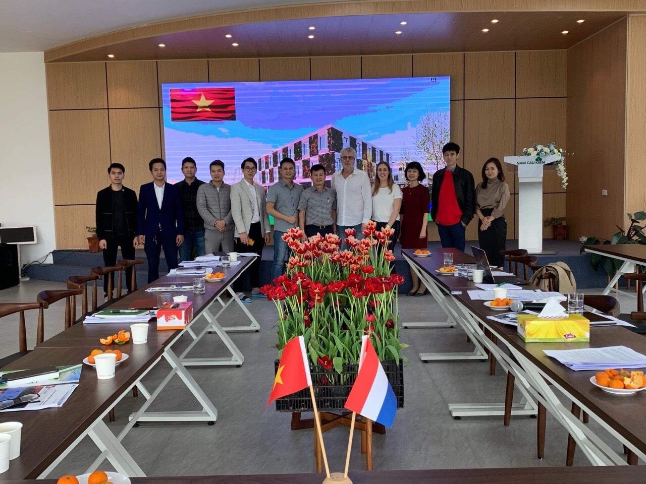 Nextfarm tham gia triển khai dự án tiền khả thi xây dựng Trung tâm Nông nghiệp Công nghệ cao của Shinec (Khu Công nghiệp Nam Cầu Kiền – Hải Phòng) và Kenlog (Hà Lan)