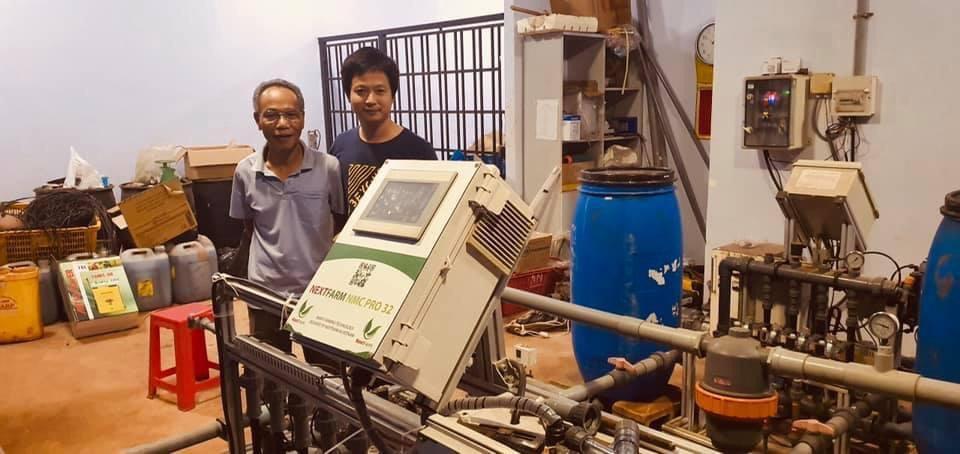 Nextfarm triển khai Giải pháp Nông nghiệp thông minh Nextfarm cho Kim Long Farm – Dưa lưới