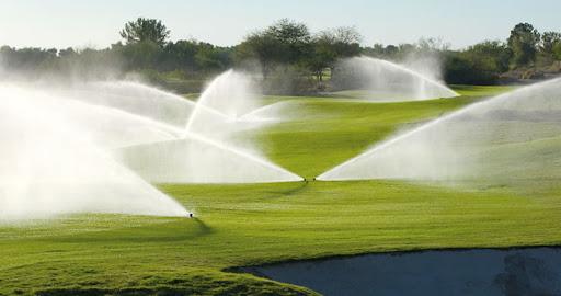 Hệ thống tưới cỏ tự động sân Golf, sân bóng đá công nghệ Mỹ